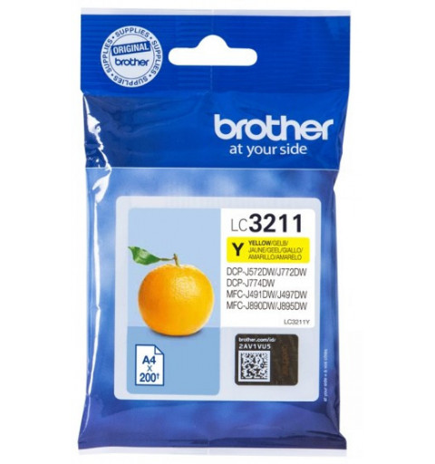 BROTHER LC3211Y TONER...
