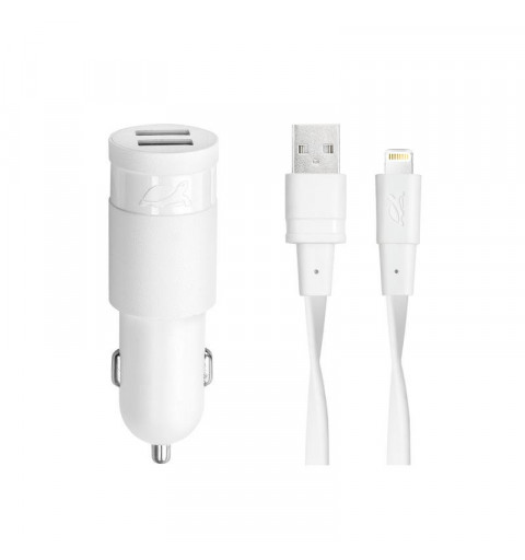 MOBILE CHARGER CAR/WHITE...